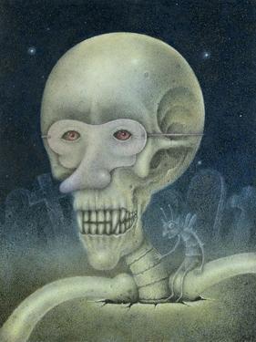 Skellybones and Grubsteak by Wayne Anderson