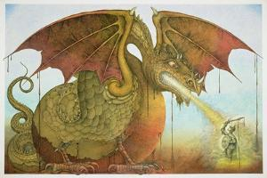 St George and the Dragon, 1979 by Wayne Anderson