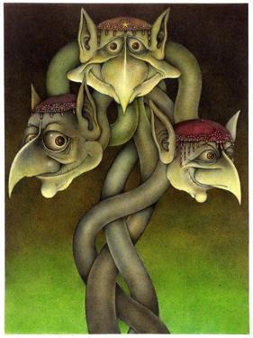Tri Nod by Wayne Anderson