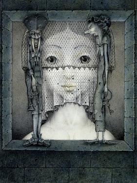 Veil of Sadness by Wayne Anderson