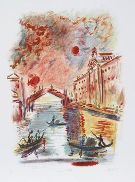 Venice Rialto by Wayne Ensrud