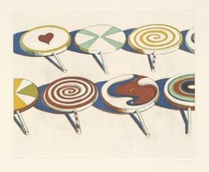 Big Suckers, 1971 by Wayne Thiebaud