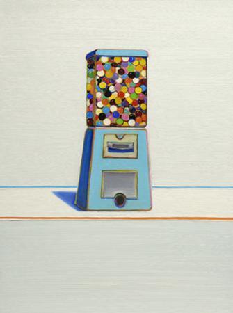 Blue Vendor, 1963 by Wayne Thiebaud