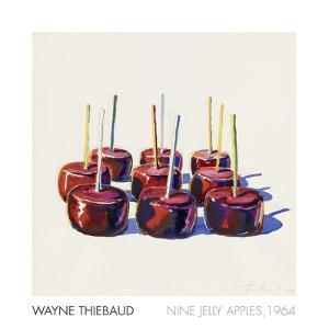 Nine Jelly Apples, 1964 by Wayne Thiebaud