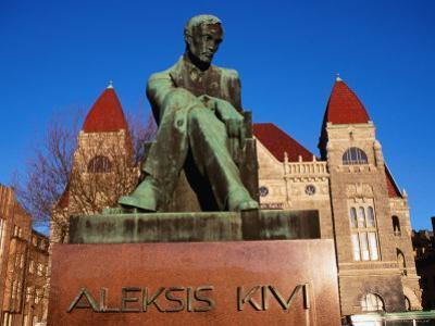 Alexis Kivi Monument, Helsinki, Finland by Wayne Walton