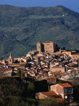 Castelbuono Hilltop Village, Italy by Wayne Walton