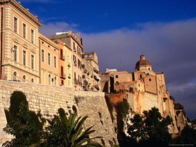 Cathedral from Bastione San Remy, Cagliari, Italy by Wayne Walton