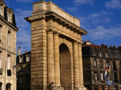 Classical Gate to City, Bordeaux, France by Wayne Walton