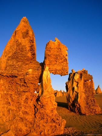 Eroded Pinnacles Near Cervantes, Nambung National Park, Australia by Wayne Walton