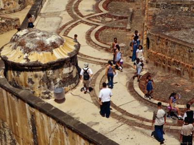 Fort San Felipe Del Morro, Old Town, San Juan, Puerto Rico by Wayne Walton