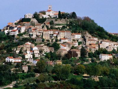 Medieval Hilltop Town, Motovun, Croatia by Wayne Walton