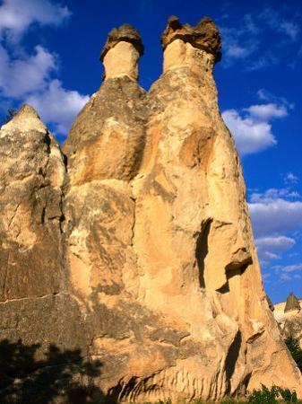 "Pasabagi ""Fairy Chimneys"" Mountains, Cappadocia, Turkey by Wayne Walton"
