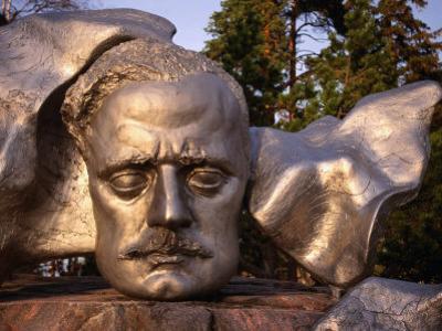Sibelius Memorial Mask, Helsinki, Finland by Wayne Walton