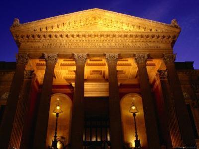 Teatro Massimo, Palermo, Italy by Wayne Walton