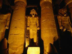Temple of Luxor by Architect Amenophis III, Luxor, Egypt by Wayne Walton