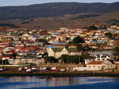 Town from Harbour, Punta Arenas, Chile by Wayne Walton