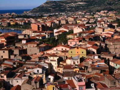 Town View, Bosa, Italy by Wayne Walton