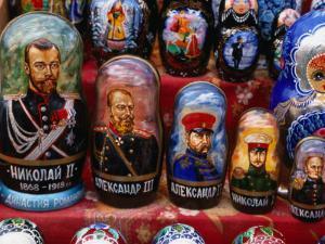 Traditional Historical Dolls, St. Petersburg, Russia by Wayne Walton