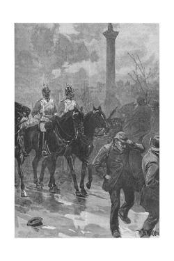 'Bloody Sunday', London, 1887 (1906) by WB Waller