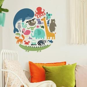We Are One Animal Peel And Stick Wall Decals