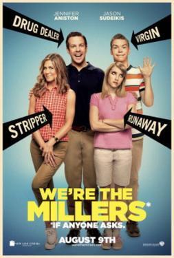We're The Millers (Jason Sudeikis, Jennifer Aniston, Emma Roberts) Movie Poster
