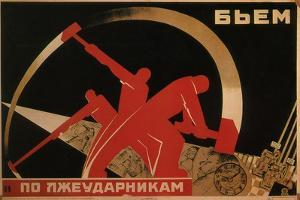 We Smite the Lazy Workers, 1931