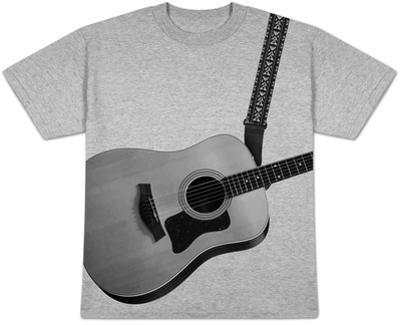 Wear an Acoustic Guitar!