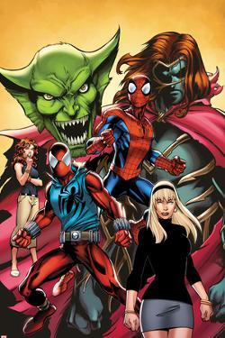 Web Warriors No.2 Cover, Featuring Jackal, Spider-Man, Kaine, Mary Jane Watson and More