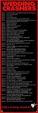 Wedding Crashers - Rules