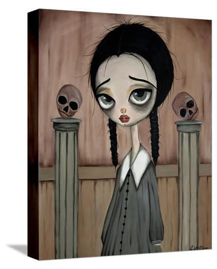 Wednesday Child-Dottie Gleason-Stretched Canvas
