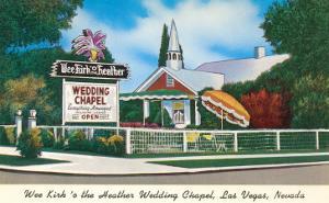 Wee Kirk o' the Heather Wedding Chapel, Las Vegas, Nevada
