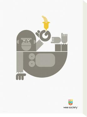Wee Alphas, Gloria the Gorilla by Wee Society