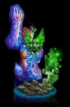 Weed Fairy - Pot Marijuana