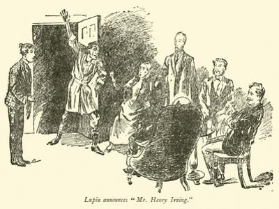"""Lupin Announces """"Mr Henry Irving"""""""