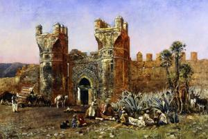 At the Gate of Shelah, Past and Present by Weeks Edwin Lord
