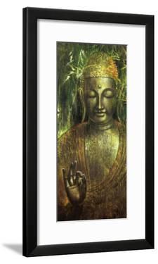 Buddha in Green l by Wei Ying-wu