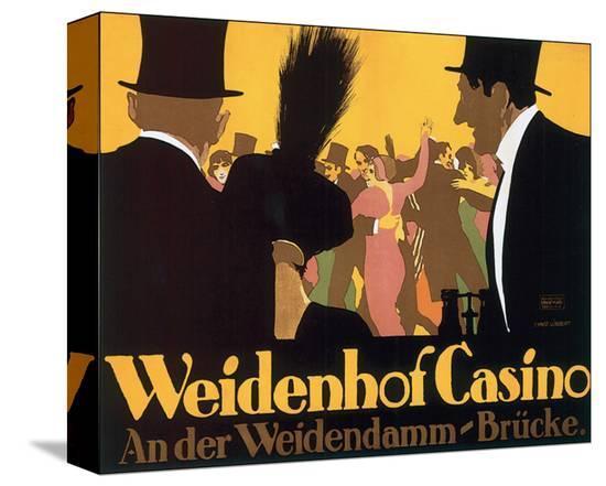 Weidenhof Casino-Ernst Lubbert-Stretched Canvas Print