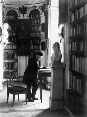 Weimar, Library, Rococo Room, Ca.1904