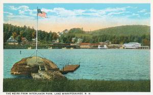 Weirs, Interlaken Park, Lake Winnipesaukee, New Hampshire