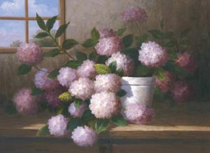 Hydrangea Blossoms l by Welby