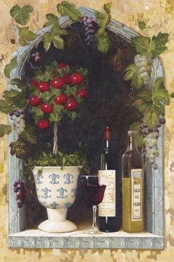Olive Oil and Wine Arch II by Welby