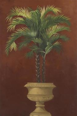 Potted Palm Red IV by Welby