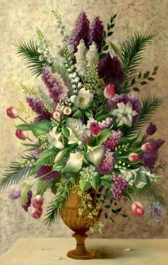 Spring Lilac Bouquet by Welby