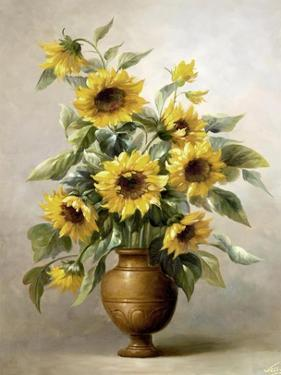 Sunflowers in Bronze I by Welby