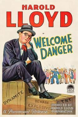 Welcome Danger [1929], Directed by Clyde Bruckman.