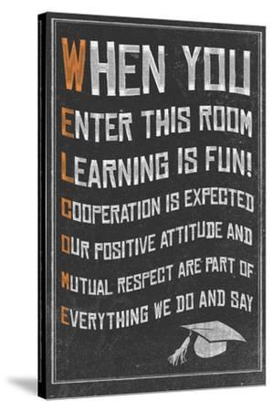 Welcome- New Classroom Motivational Poster