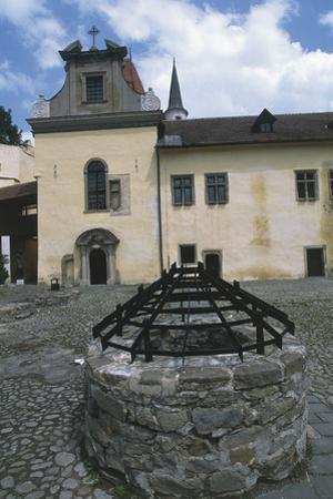 Well in Kezmarok Castle Courtyard, Slovakia