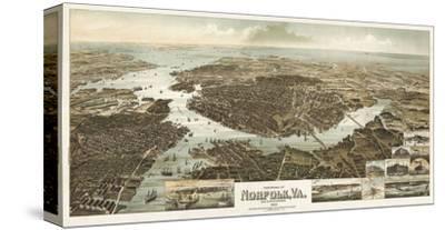 Panorama of Norfolk, Virginia, and Surroundings, 1892