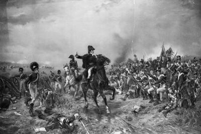 Wellington at Yhe Battle of Waterloo