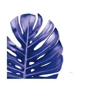 Statement Palms IV Indigo by Wellington Studio